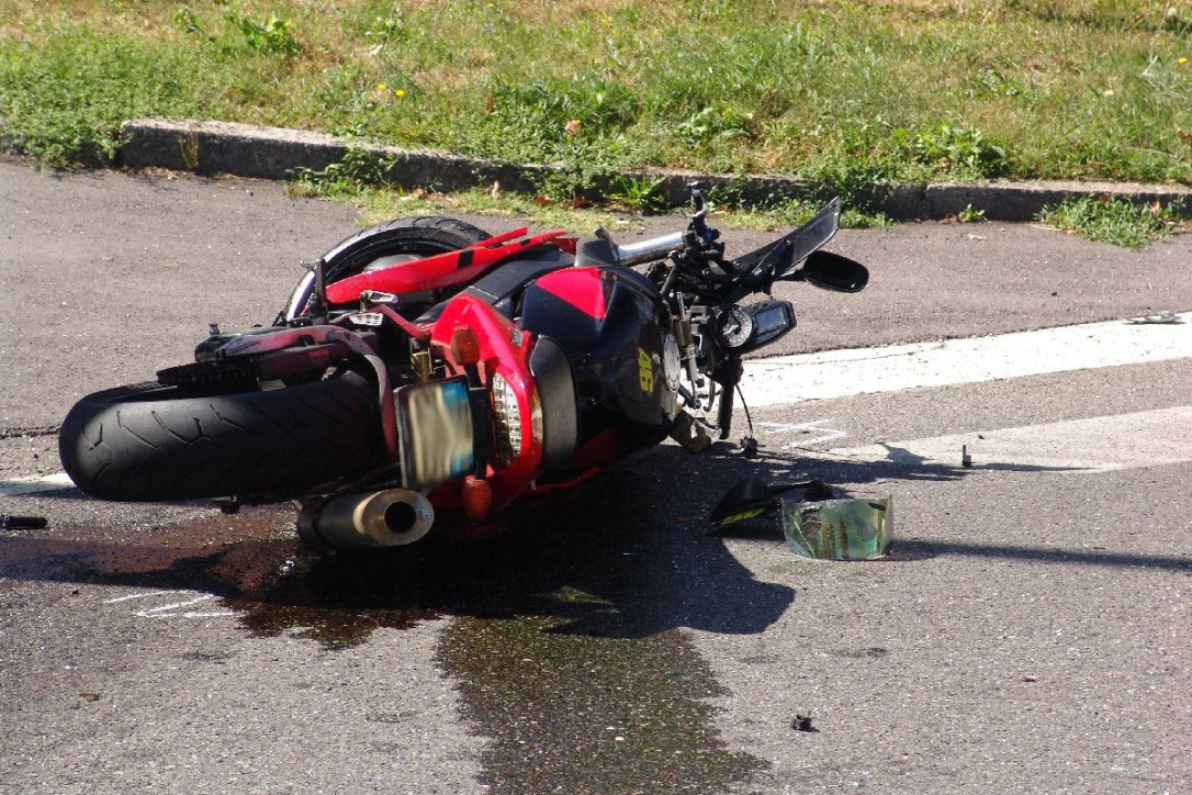 moto-incidente